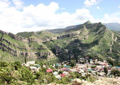 gunib_village view