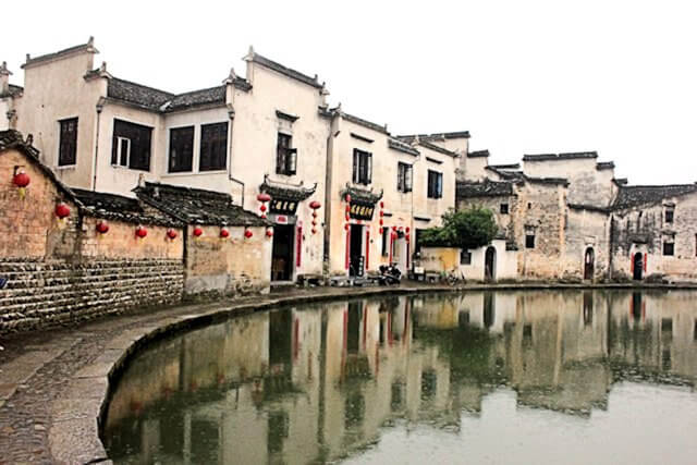 hongcun_moon pond_1
