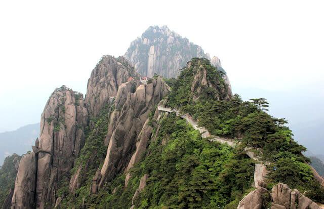 huangshan_lotus peak
