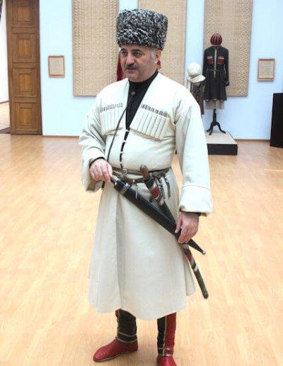 nalchik_kabardino-balkaria museum_shashka demonstration