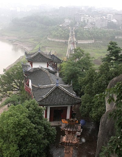 shibaozhai_view from pagoda