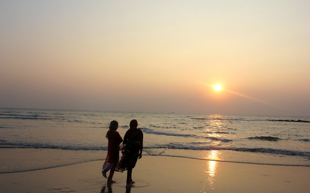 inani beach_sunset