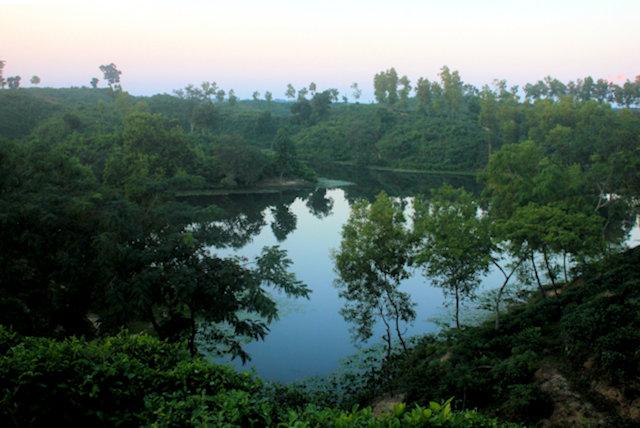 madhabpur lake_landscape