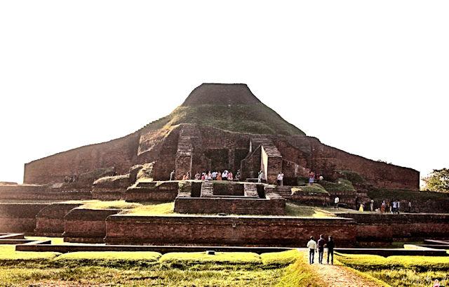 paharpur_somapuri vihara_great stupa