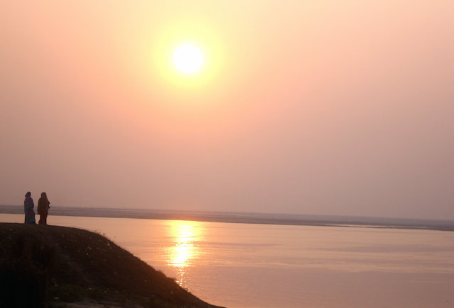 rajshahi_padma river_sunset