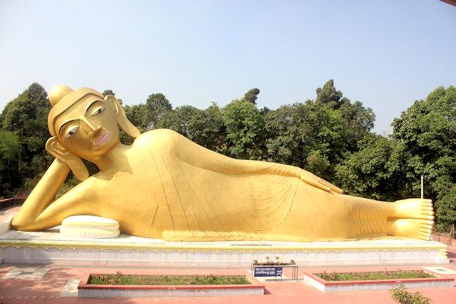 ramu_reclining buddha