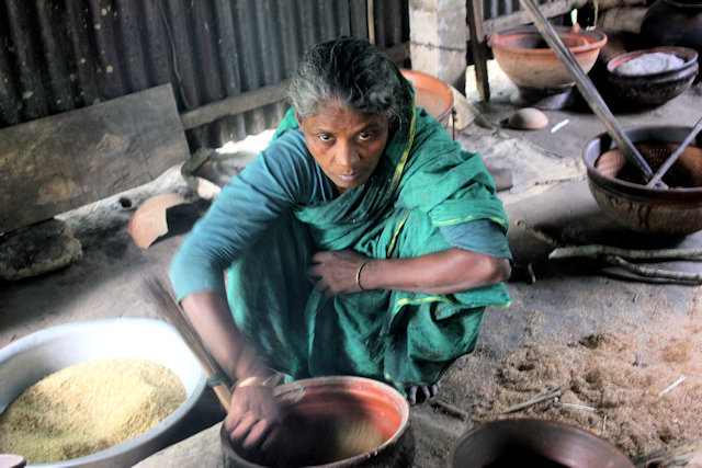 tangail_rice preparation