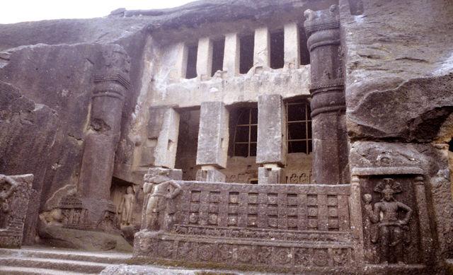 kanheri caves_exterior