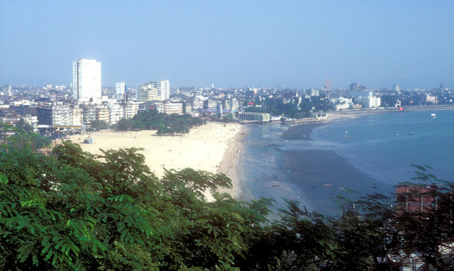 chowpatty beach_overview