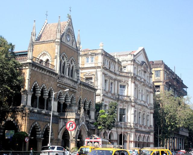 kala ghoda_david sassoon library, army & navy building and esplanade mansion