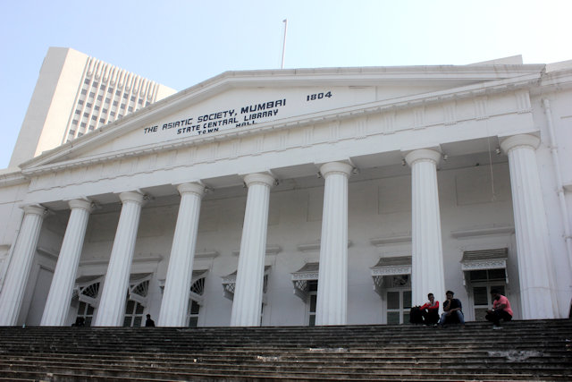 former town hall and asiatic society_exterior