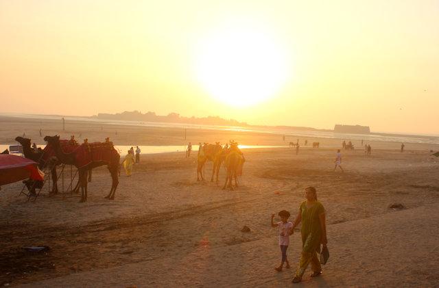 alibag_beach and kolaba fort