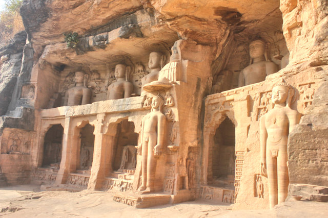 gwalior_fort_jain sculptures
