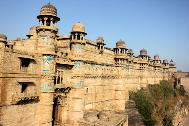 gwalior_fort_man mandir palace