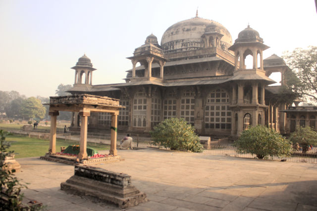 gwalior_tomb of mohammed ghaus