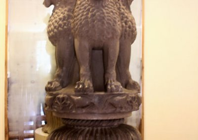 sanchi_archaeological museum_ashokan pillar