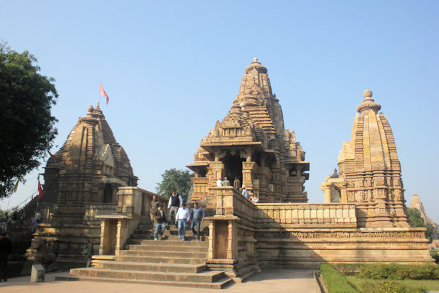 khajuraho_matangeshvara and lakshman temples