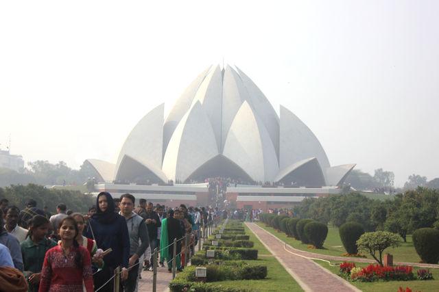 bahai (lotus) temple