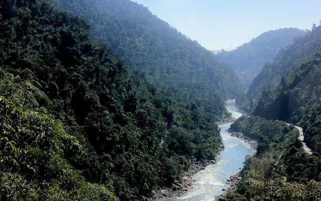bhalukpong_kameng river