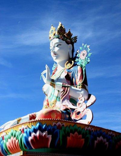 lumla_drema lhagang statue