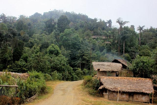 longwa_naga village
