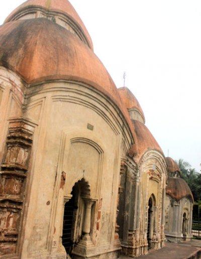 kalna_pancharatna temples
