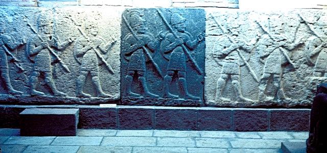 ankara_museum of anatolian civilizations_hittite panels
