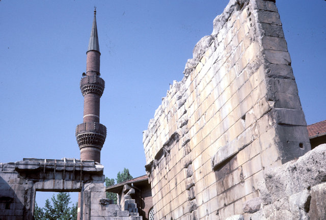 ankara_temple of augustus and haci bayram mosque