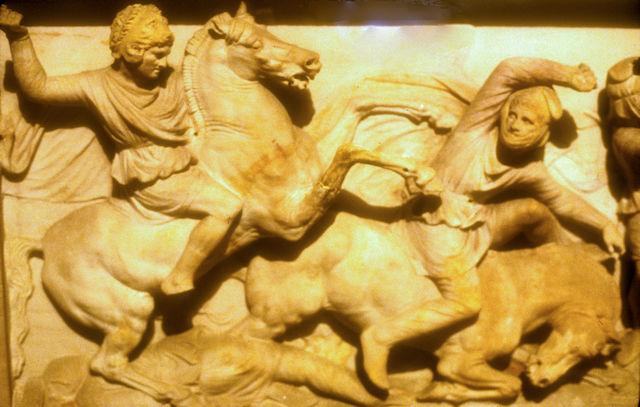 archaeological museum_alexander sarcophagus