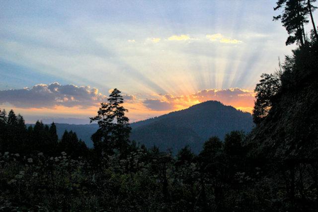 bakuriani_sunset