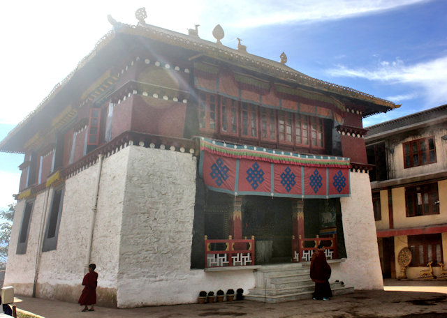bomdila_lower gompa