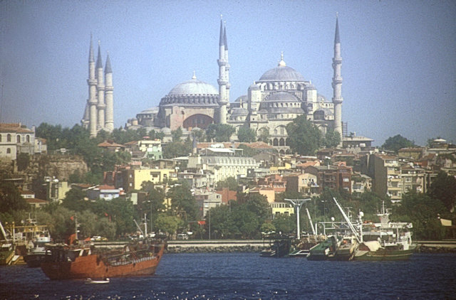bosphorus view_hagia sophia and blue mosque