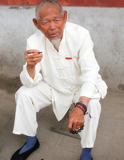 elderly resident
