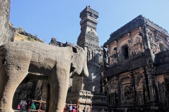 ellora_caves_kailasanatha temple