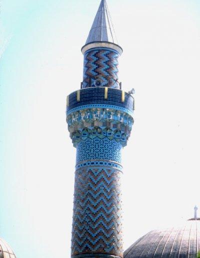 iznik_green mosque_minaret