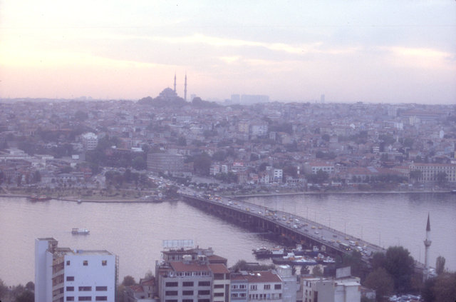 suleimaniye mosque and ataturk bridge