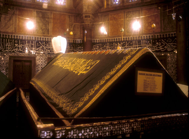 suleimaniye mosque_tomb