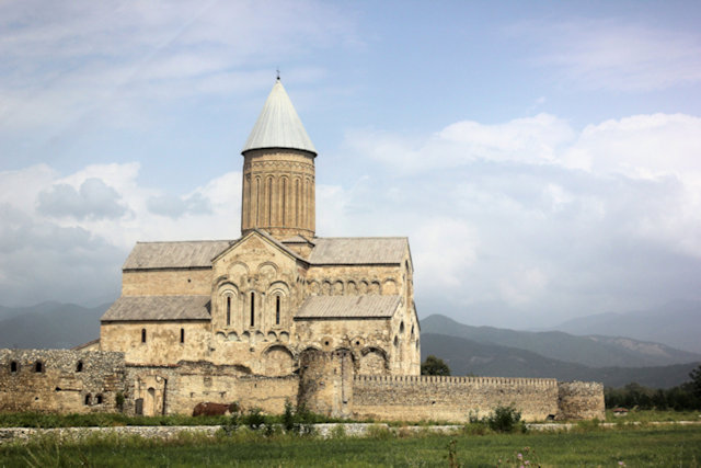 zemo khodasheni_alaverdi cathedral