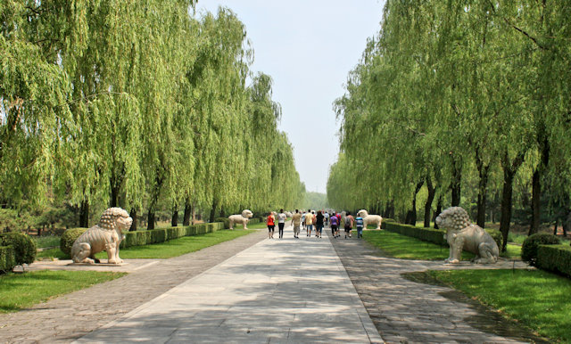 da gong men_ming tombs_spirit way