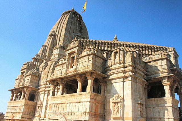 chittorgarh_fort complex_kumbha shyam temple_2