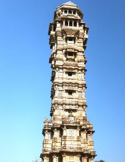 chittorgarh_fort complex_vijay stambha