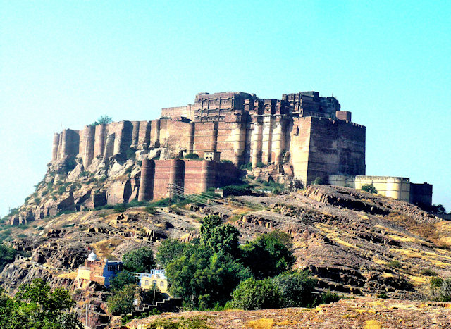 jodhpur_mehrangargh fort