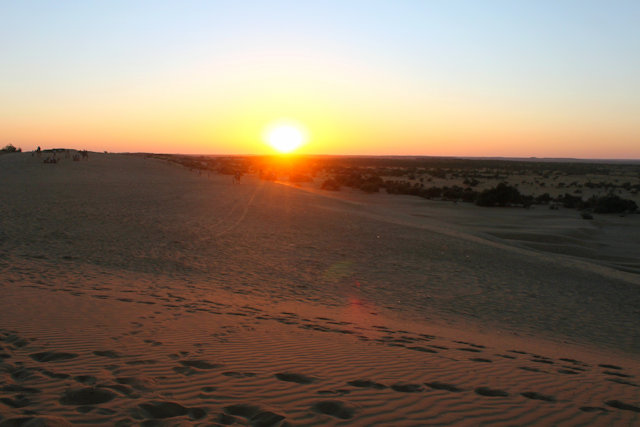 khurri_thar desert at sunset