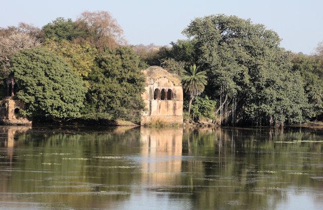ranthambhor_lake pavilion