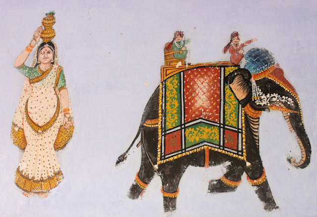 tordi garh_wall fresco