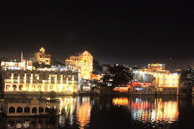 udaipur_night illumination
