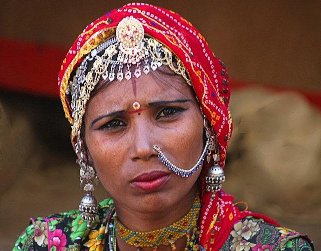 jaisalmer_rajput woman