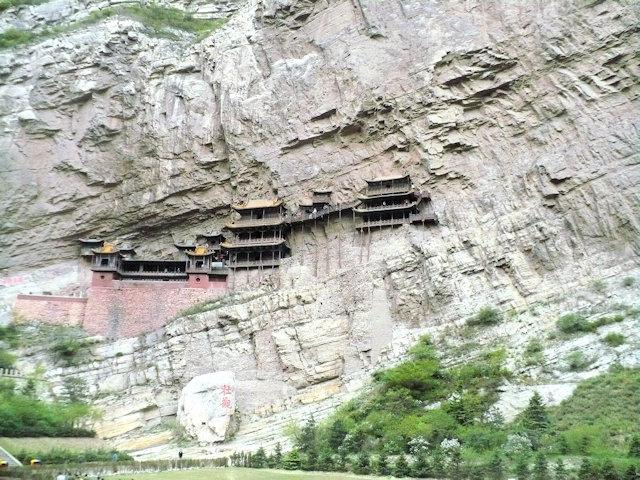 hengshan_xuankong temple