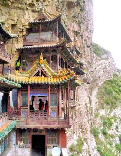 hengshan_xuankong temple_2
