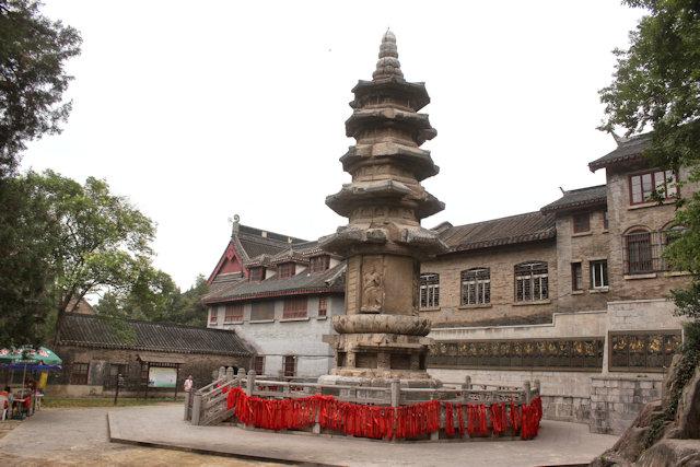 nanjing_qixia temple complex_sheli pagoda